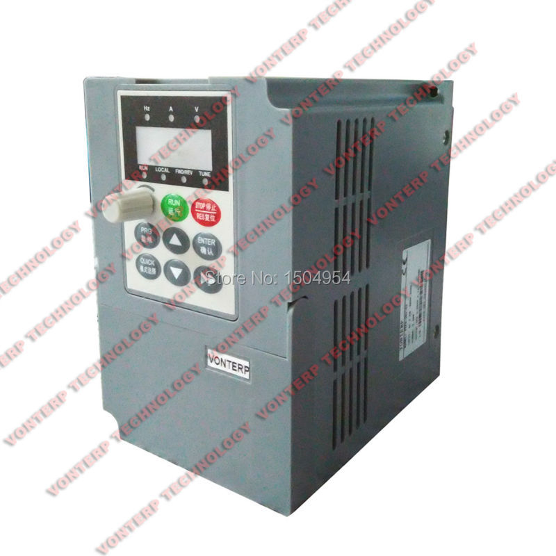 220v single phase 1.5kw input and 220v 3 phase output mini frequency inverter/variable frequency drive/ VFD/motor speed control baileigh wl 1840vs heavy duty variable speed wood turning lathe single phase 220v 0 to 3200 rpm inverter driven