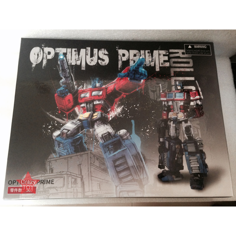 MU 3D Métal Puzzle TF Optimus Prime G1 DIY Laser couper puzzles Jigsaw Modèle Pour Adulte enfants Jouets Éducatifs Bureau décoration - 5