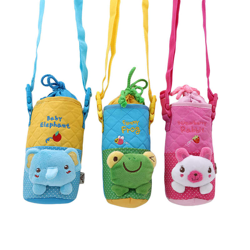 Baby Insulation Bag Children Student Thermal Bag 3D Cartoon Milk Watter Thermos Baby Bottle Holders Storage Bags