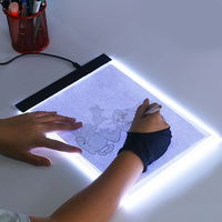 A4 Digital Graphics Tablet for Drawing Pad LED Light Box Art Copy Board Electronic USB Writing Painting Table Panel