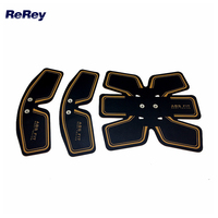 EMS Electrode Pad For Electric Muscle Stimulation Slimming Tens Muscle Exerciser Electro Body Toning Fitness Training