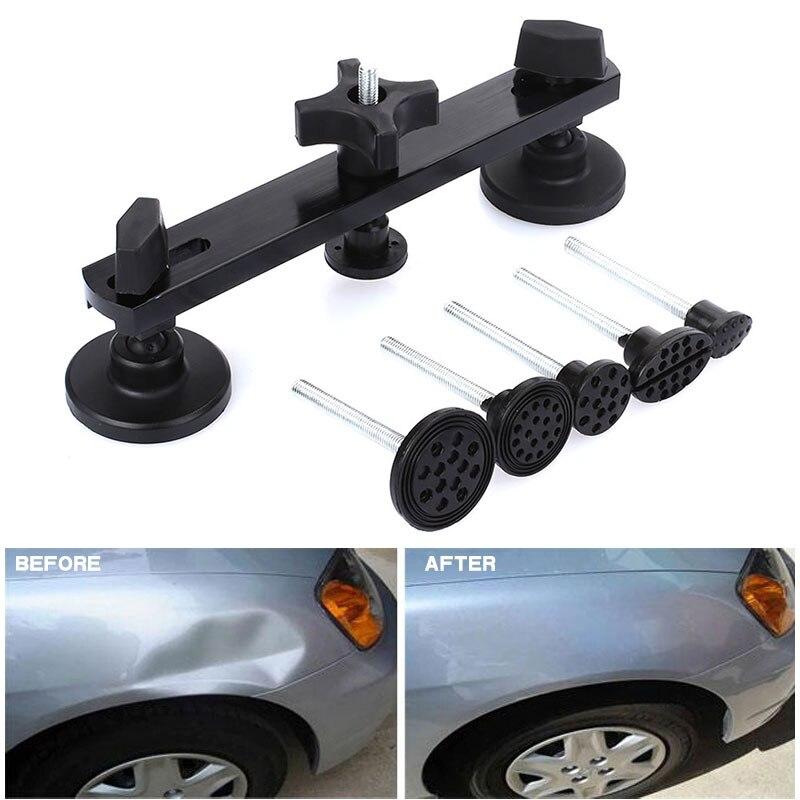 Vehemo Съемник комплект для ремонта кузова автомобиля вмятин ремонт автомобиля вмятин уход за телом автомобиля для тяги инструмент «Мост» прочный автомобильный