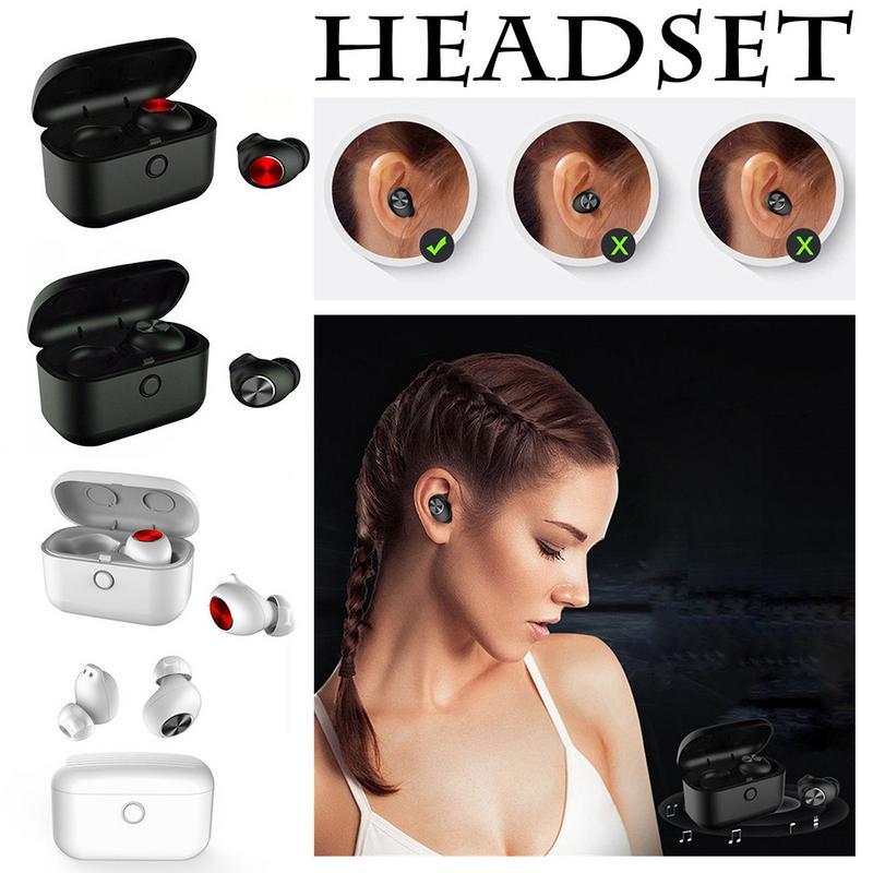 Nouveau Bluetooth oreille téléphone 5.0 Mini TWS chargeur boîte 0 secondes automatique démarrage et arrêt véritable casque Binaural sans fil