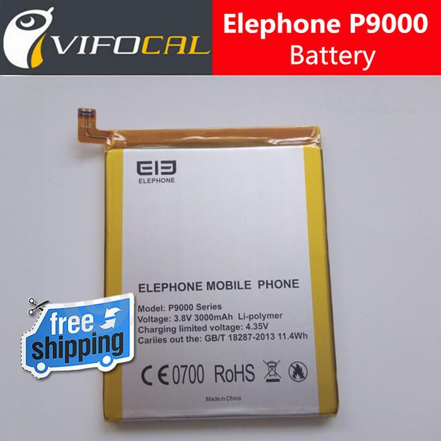 Elephone P9000 batería 3000 mah 100% Original Nuevo Reemplazo de la Batería de Acumuladores Accesorio Para Elephone P9000 Teléfono Lite