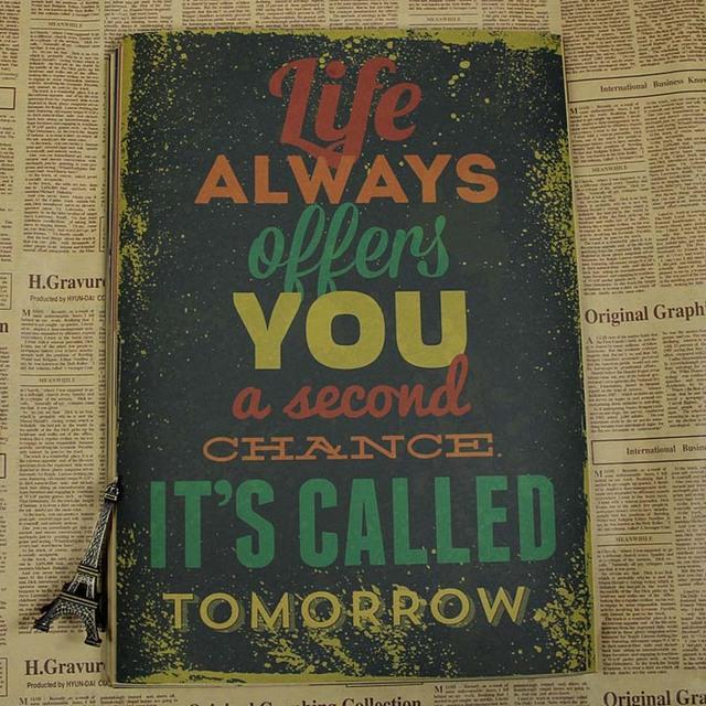 Poster Vintage / Citations de motivation