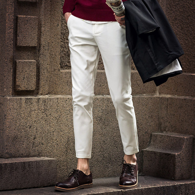 British Style Gentleman Trousers  3