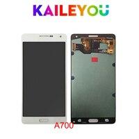 5 шт./лот Оригинал 5,5 AMOLED Дисплей для SAMSUNG Galaxy A7 2015 ЖК дисплей A700 A700F A700FD Сенсорный экран планшета Запчасти для авто