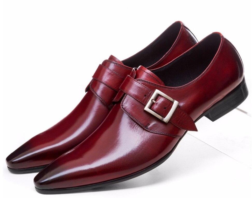 Grande taille EUR44 marron tan/noir chaussures d'affaires hommes chaussures habillées en cuir véritable chaussures de mariage hommes chaussures formelles