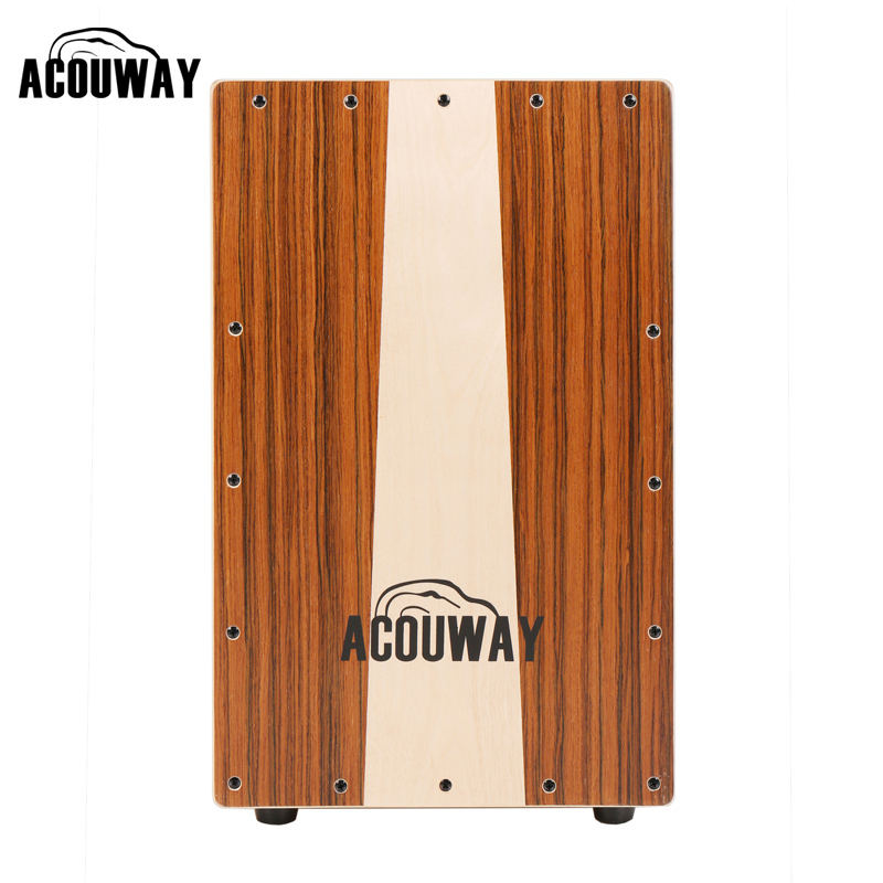 Brand ACOUWAY acoustic percussion flamenco drum cajon also good sitting wooden Stool chair box furniture