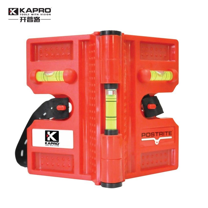 Kapro plegable cilindro magnético fuerte nivel de alta precisión tubería mini nivel de alcohol