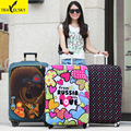 Elastic Luggage Cover  for 20inch-32inch suitcase elastic polyester material with four kinds 1 pcs free shipping 16861