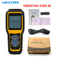 OBDSTAR X300M Odometer Adjustment and OBDII Support For Benz Mileage Correction Tool X300 M Better Than Tacho Pro Digiprog 3