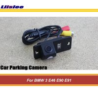 Liislee For BMW 3 E46 E90 E91 Reverse Auto Integrated Rear View Camera / Back Up Parking Camera / HD CCD Night Vision