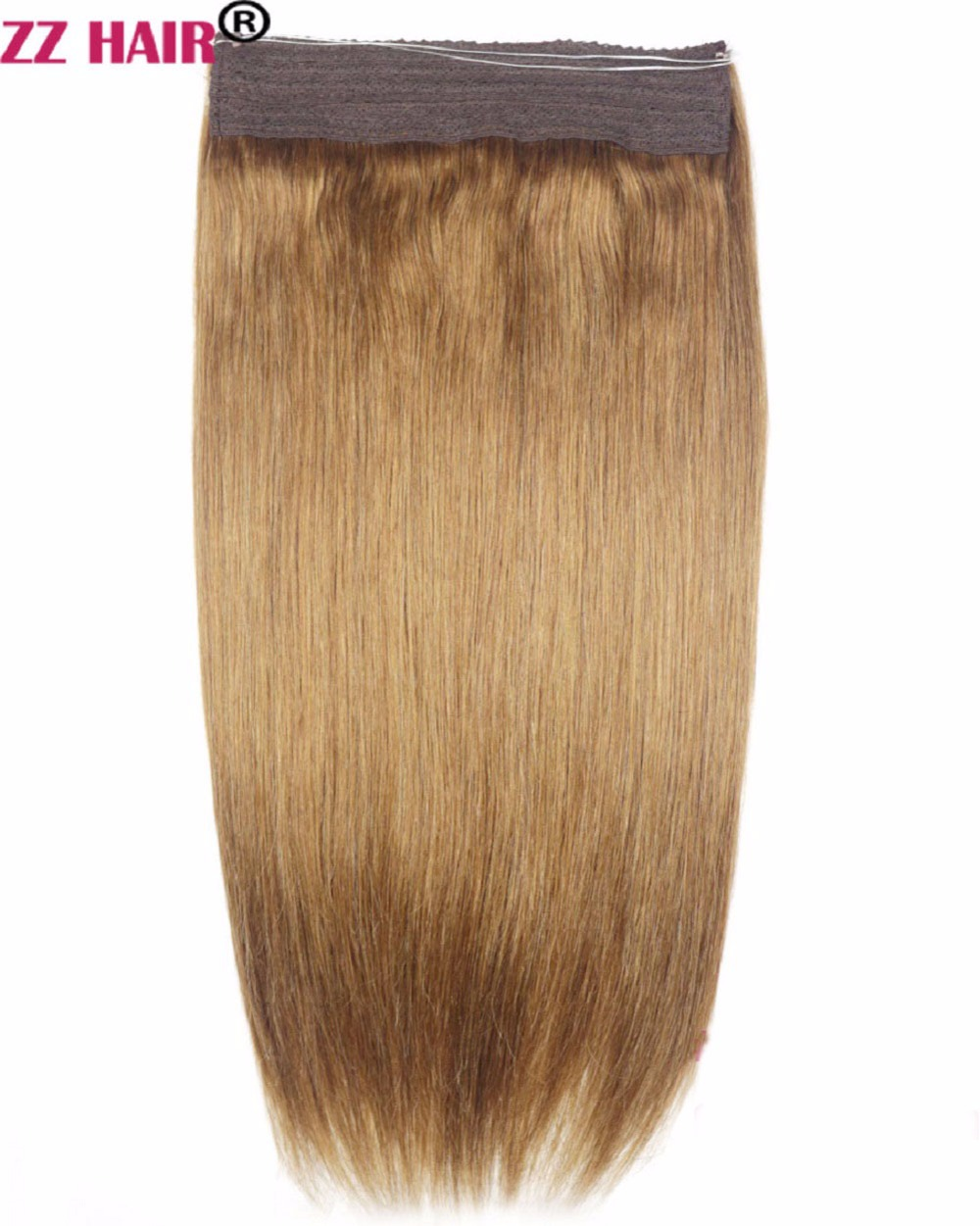 Zzhair 180g 16 28 Non Remy Halo Hair Flip In Human Hair Extensions
