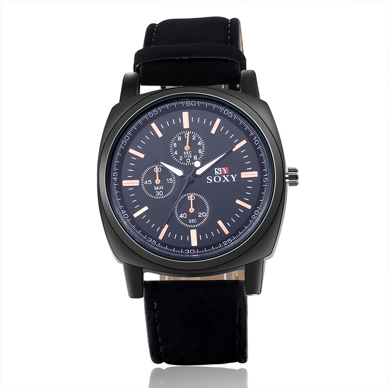 wysokiej jakości zegarki męskie męskie Wrist Watch Quartz - Męskie zegarki - Zdjęcie 4