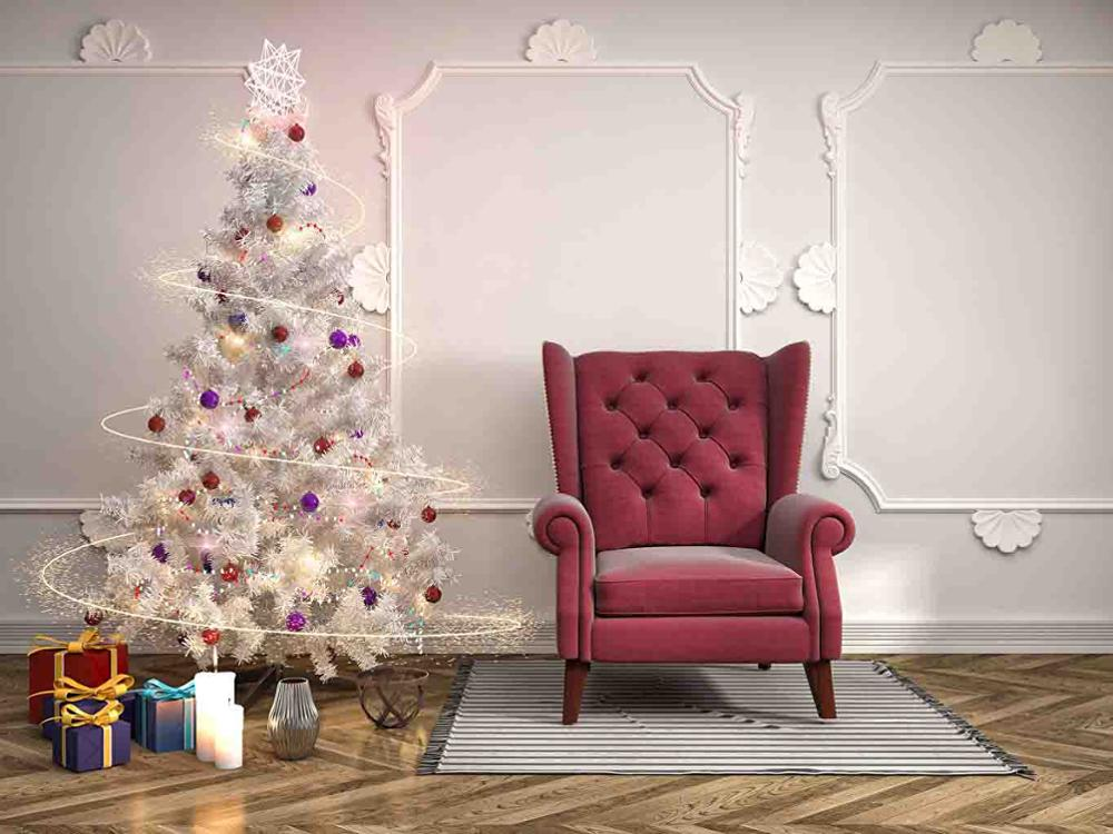 SHENGYONGBAO Art Cloth Custom Photography Backdrops Prop Christmas day Photo Studio Background M19714 56 in Background from Consumer Electronics