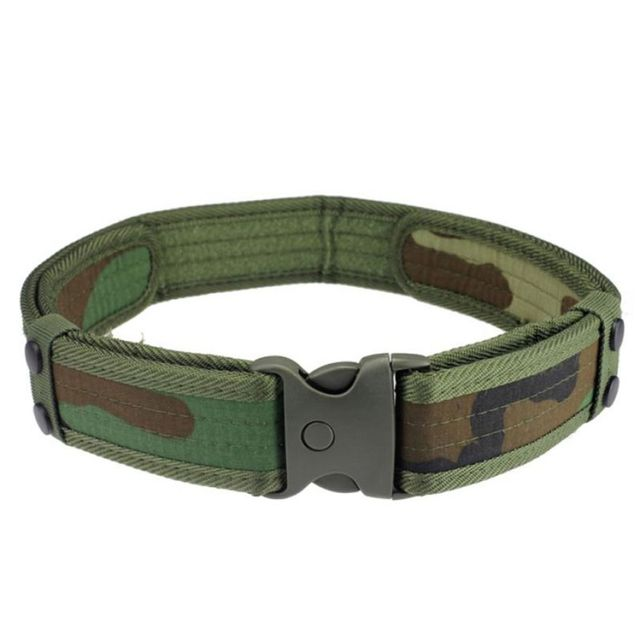 High Quality Belts Luxury New Woodland Camo Waistband Tactical Hunting Field Belt
