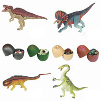 Educational Toys 20PCs DIY Dinosaur Toys Filled Easter Eggs Deformed Dinosaur Egg Collection Model Toy Gift To Children 2019