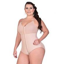 Shapewear Women Full Body Shaper High Waist Panty Butt Lifter Trainer Corset Bodysuit Lady Plus Size 6XL