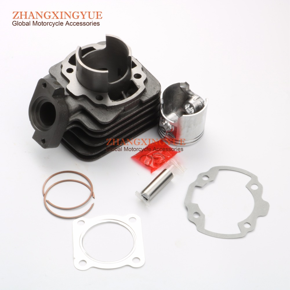 70cc Big Bore Cylinder Barrel Kit for PEUGEOT Buxy AIR RS 50 Elyseo Advantage Looxor Metal-X 50 Zenith AIR 2T 50cc 47mm/12mm 47mm 10mm 70cc big bore cylinder barrel kit head for aprilia gulliver rally scarabeo sonic sr 50cc