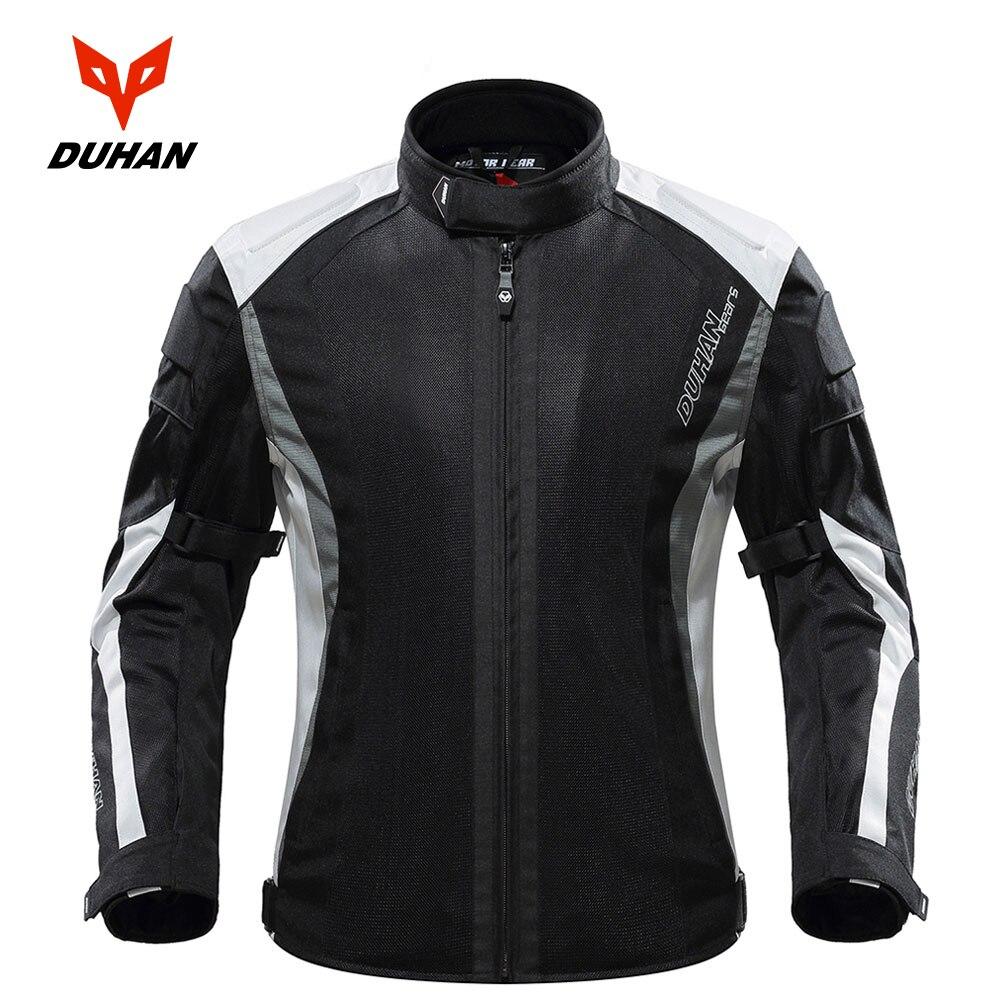 DUHAN veste de Moto Protection de Motocross équipement de Protection veste de Moto armure de Moto armure de course avec cinq protecteurs