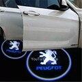 Двери автомобиля Логотип Проектор Свет Для Peugeot 307 206 308 407 207 3008 2008 208 508 301 306 408 106 107 607 405 806 807 605 4008 205