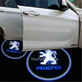 La Puerta de coche Logo Proyector de Luz Para Peugeot 307 206 308 407 207 3008 2008 208 508 301 306 408 106 107 607 405 806 807 605 4008 205