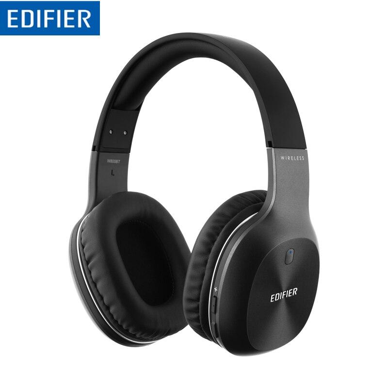 EDIFIER W800BT casque stéréo Bluetooth casque sans fil Bluetooth musique ordinateur réduction de bruit casque HIFI appel