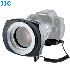 Image 4 - JJC LED Flash Macro Ring  Light Speedlite for DSLR Macro Lens Includes Adapter Ring 49mm 52mm 55mm 58mm 62mm 67mm Step Ring
