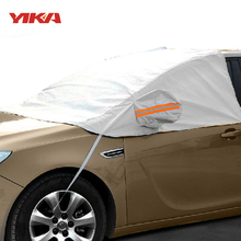 Yika anti-uv foil thicken sunshade shield cars half covers snow styling