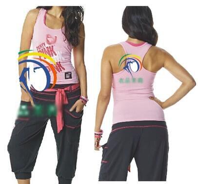 Размеры S, M, l женщина танец жилет вечерние в розовый Racerback розовый T175
