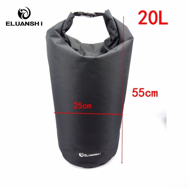 20L New Dry Waterproof Bag kayak in rowing boats Surfing accessories marine water sports Drifting Swimming pool diving mask surf