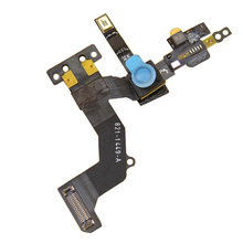 New Proximity Light Sensor Flex Cable with Front Face Camera for iPhone 5 5G Replacement Repair Free Shipping hot sales replacement for apple iphone 5 5g full screw set with 2 botton mini screws repair 2 bag lot new arrival 5076