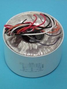 Toroidal transformer copper custom transformer 220VAC 500VA output 2*33AC 6A + 2*40V 1A 2*12V 1A for amplifier output ac 0 6 3v 12v 24v 36v single phase control transformer 25va toroidal transformer