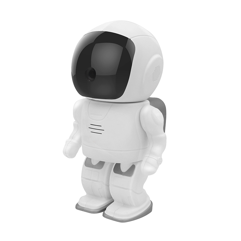 Robot IP Camera HD WIFI Baby Monitor 960P Resolution Wireless CCTV P2P Audio Security Cam Remote Home Monitoring SD Card Record pengbo robot ip camera wifi hd 960p 1 3mp cmos wireless cctv security video cam p2p ir night vision audio baby monitor card slot