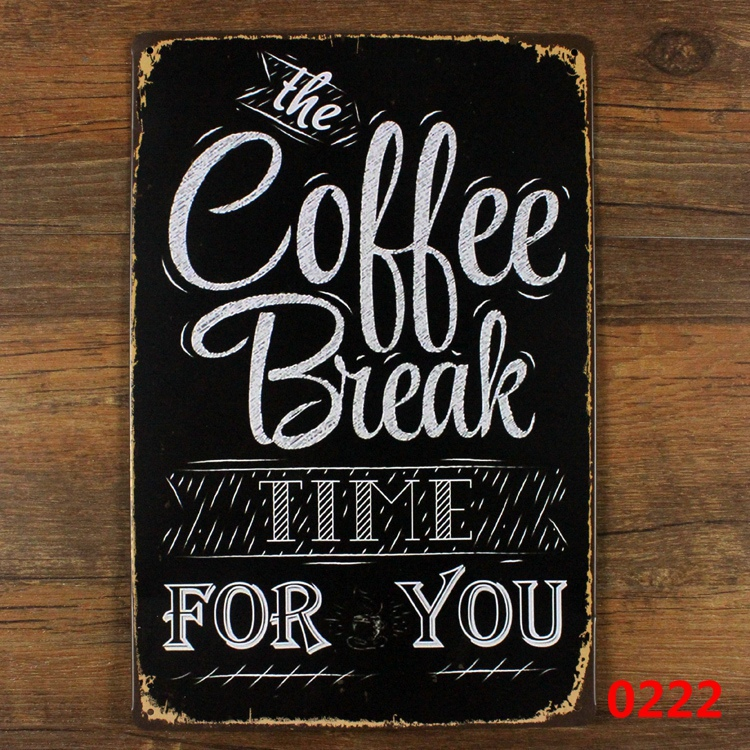 the coffee break time for you vintage metal signs retro calligraphy vector art free calligraphy vector png