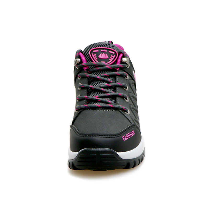 2016 New Hiking Shoes Women Outdoor Sport Boots Autumn Winter Trekking Walking Shoes Ladies Purple Red Mountain Climbing Boots in Hiking Shoes from Sports Entertainment