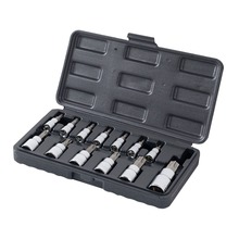 WORKPRO 13PC Torx Bits Socket Set 1/4″ 3/8″ 1/2″ Dr. Bit Sets Home Tool Kits