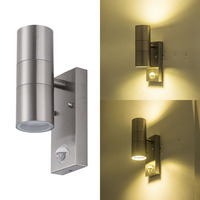 Exterior PIR induction Bracket light 10W up and down Motion sensor Led Wall sconces Lamp auto on off led Porch Lights