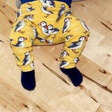 WEONEWORLD 2017 Casual Boys Girls Pants Children Animal Character Cartoon Print Harem Pants Baby Girl Leggings Loose Design