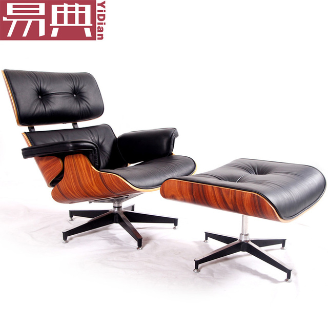 Yi Dian Furniture Eames Lounge Chair Eames Lounge Chair Recliner Sofa Chair  Lunch Break