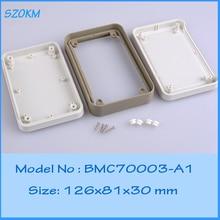 10 pcs/lot electrical box plastic project box powerizer plastic enclosure pedal enclosure pcb enclosure