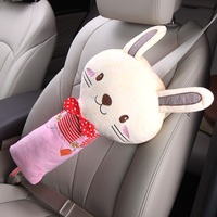Automobile Safety Belt Shoulder Sleeve Pillow Cute Cartoon Children Safety Belt Shoulder Protection Range Of Decorative