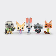 Disney Film Zootopia Nick Fox Judy Fennec Tn. Big Flash Sloth Mole Action Figure Model Boneka Mainan Anak Koleksi Hadiah anak-anak(China)