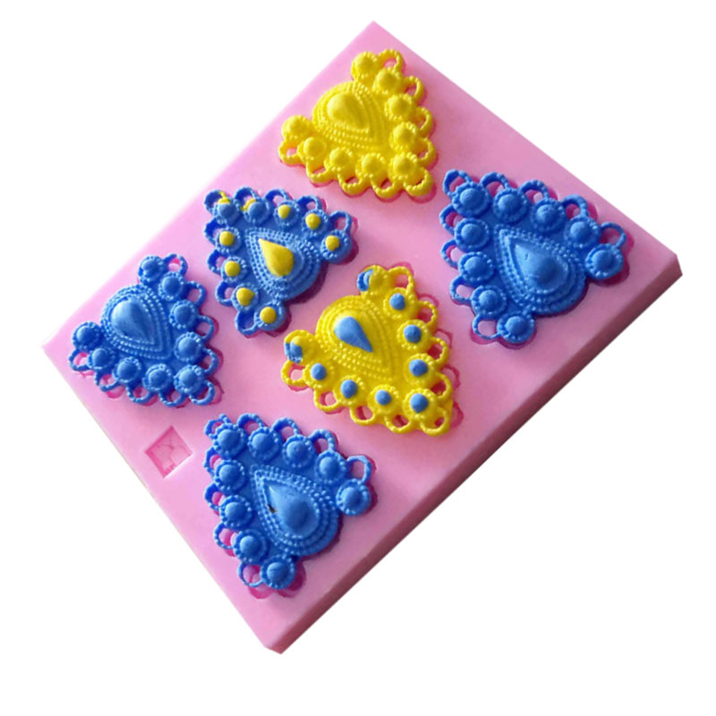 Silicone Bakeware Leaf Shaped Kitchen Accessories Tools Fondant Silicone Molds For Cake Decorating 9.7*9.5cm