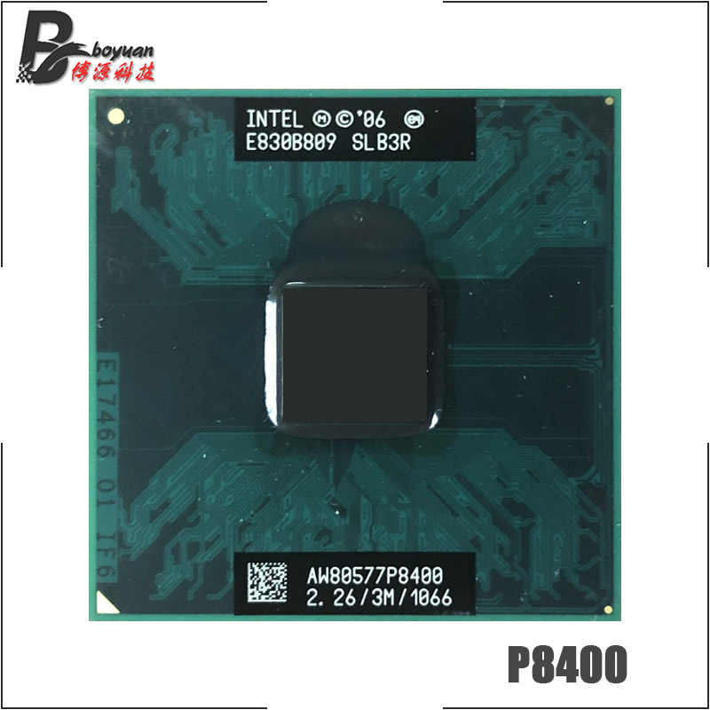 Intel Core 2 Duo Mobile P8400 SLGFC SLB3Q SLB3R SLB52 SLG8Z 2.2 GHz Dual-Core Dual-Thread di CPU processore 3M 25W Socket P