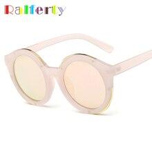Ralferty Vintage Ladies Round Sunglasses Women Brand Designer Coating Glasses UV400 Female Driving Sport Goggles Oculos Pink 865
