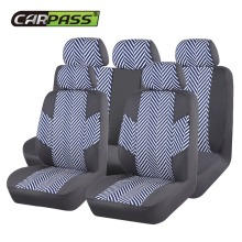 цена на 2017 Fashion Linen Car Seat Covers Universal Set Front Rear Auto Full Seat Protector For Corolla Car Styling Covers Accessories