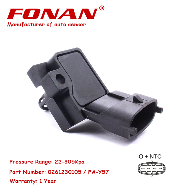 Air Intake Manifold Absolute Turbo Boost Pressure MAP Sensor For