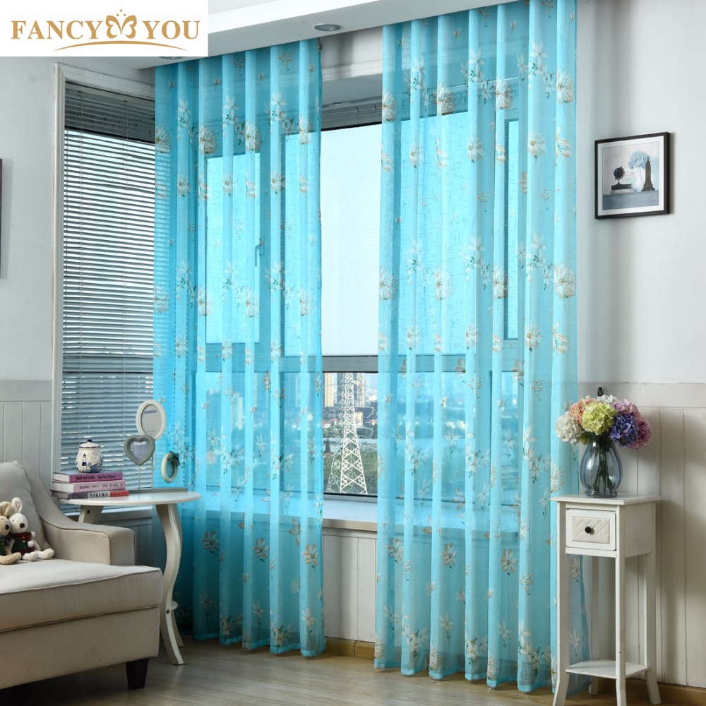 curtains voile kitchen window living room curtains and tulle window treatments jacquard cheap. Black Bedroom Furniture Sets. Home Design Ideas